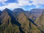 La vue depuis le sentier au dessus de Dos d'Âne, La Réunion