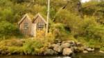 Petite cabane d'une ancienne centrale électrique, Islande
