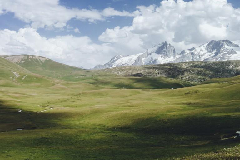 Le sublime Plateau d'Emparis, Parc National des Ecrins