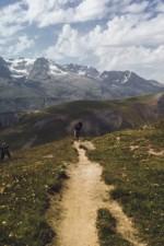Dure la montée sous cette chaleur ..., Parc National des Ecrins
