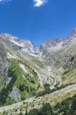 L'impressionnant Col de la Muzelle (2613m), Parc National des Ecrins