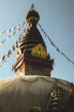 La stupa de Swayambunath, Népal