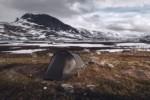 Bivouac près de Radunjarga - Laponie