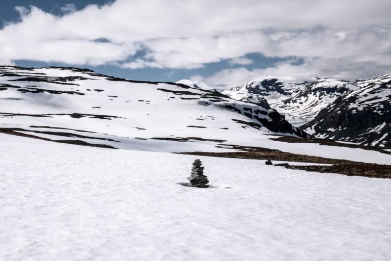 Cairn vers Karsavagge - Laponie