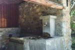 Fontaine publique dans les Ecrins