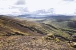 Le paysage à la montée, Islande