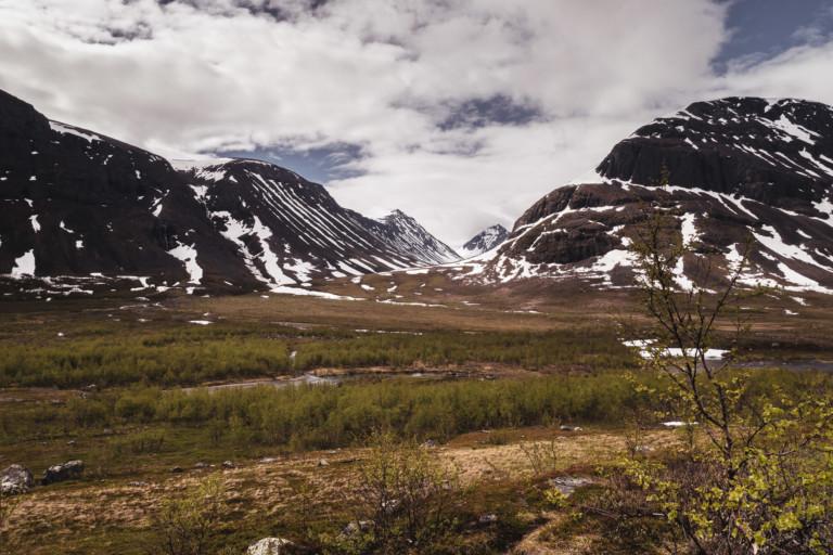 Vers la Vallée de Nallo - Laponie