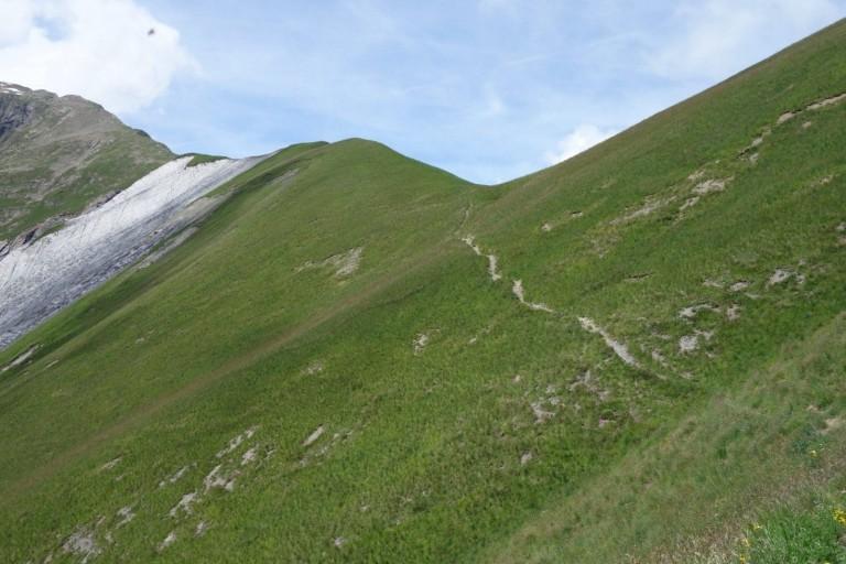Le col de la Cloche, Parc National des Ecrins