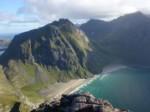 Kvalvika, Iles Lofoten, Norvège