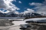 Passage d'un pont de neige - Laponie Suédoise