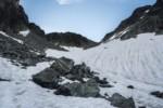 Descente derrière le Col de la Vache - GR738